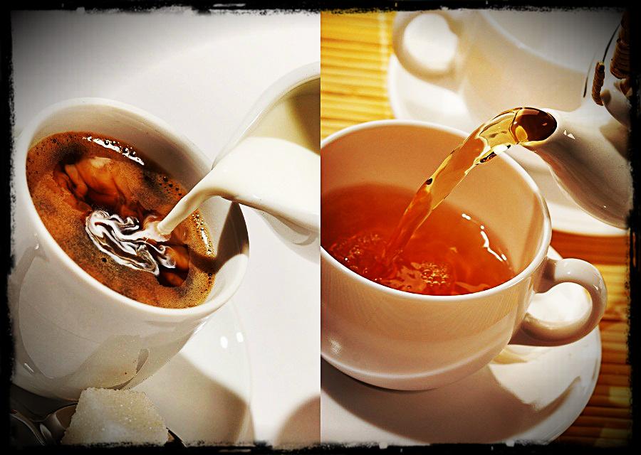 Ce alegi pentru dantura ta: Ceaiul sau Cafeaua?